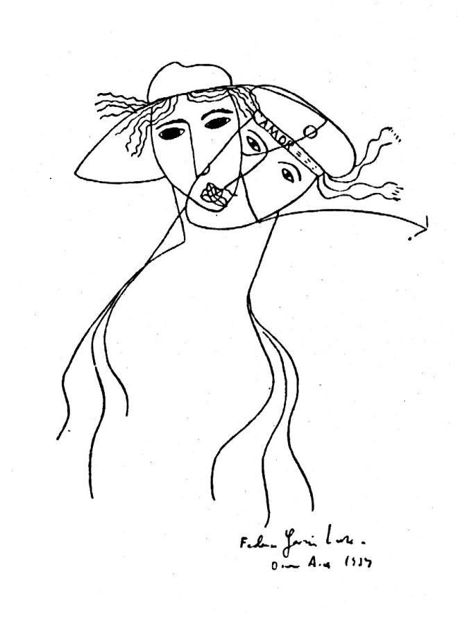 disegno, garcia lorca