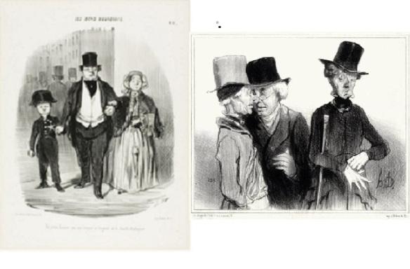 H. Daumier, Les bons bourgeois, 1846