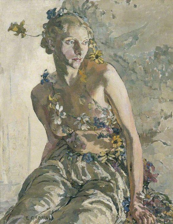 Ethel Léontine Gabain (1883-1950) la ninfa