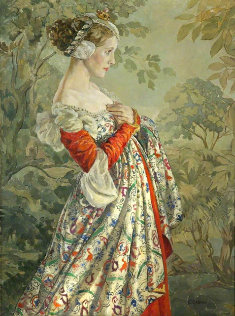 Ethel Léontine Gabain (1883-1950)Diana Wynyard in 'The Silent Knight_