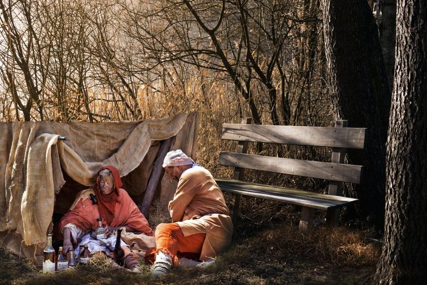 fotografare la miseria